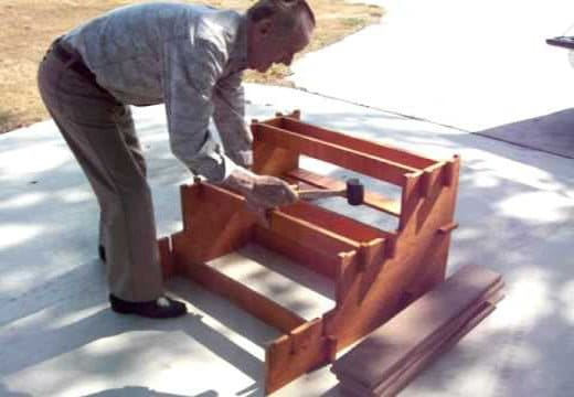 How to Build Free Standing Wooden Steps in 6 Simple Steps