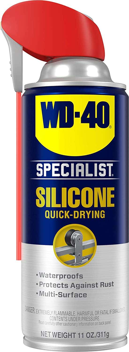 Best quick-drying garage door lubricant: WD-40 Specialist Water Resistant Silicone