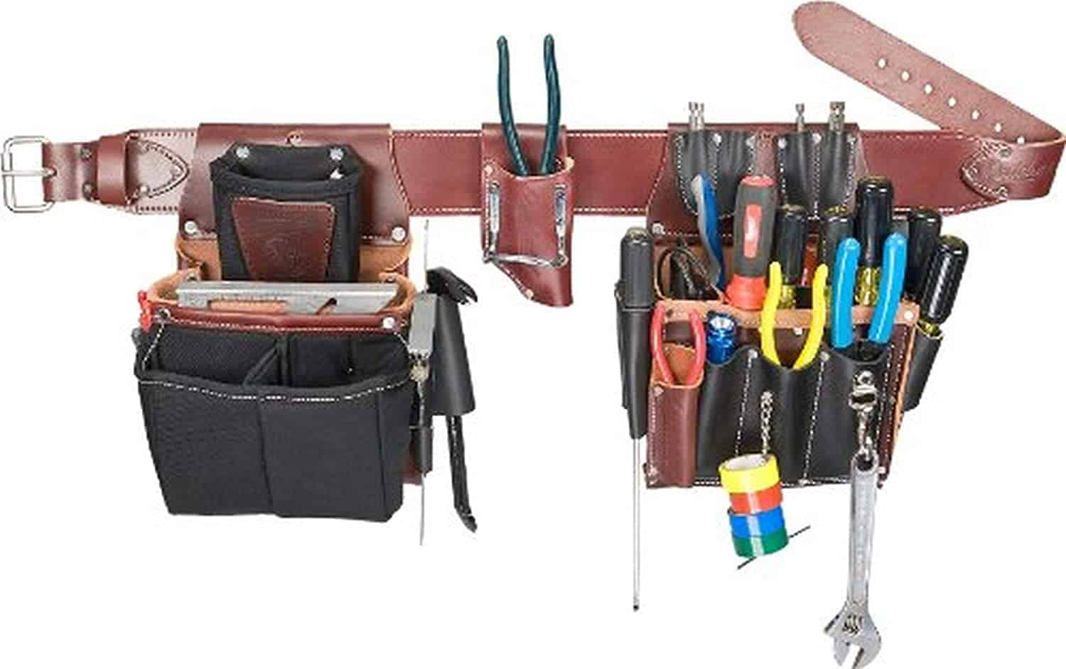 Overall bestElectrician Tool Belt:Occidental Leather