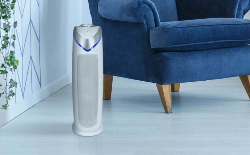 Affordable UV-Light Air purifier that kills viruses: GermGuardian AC4825