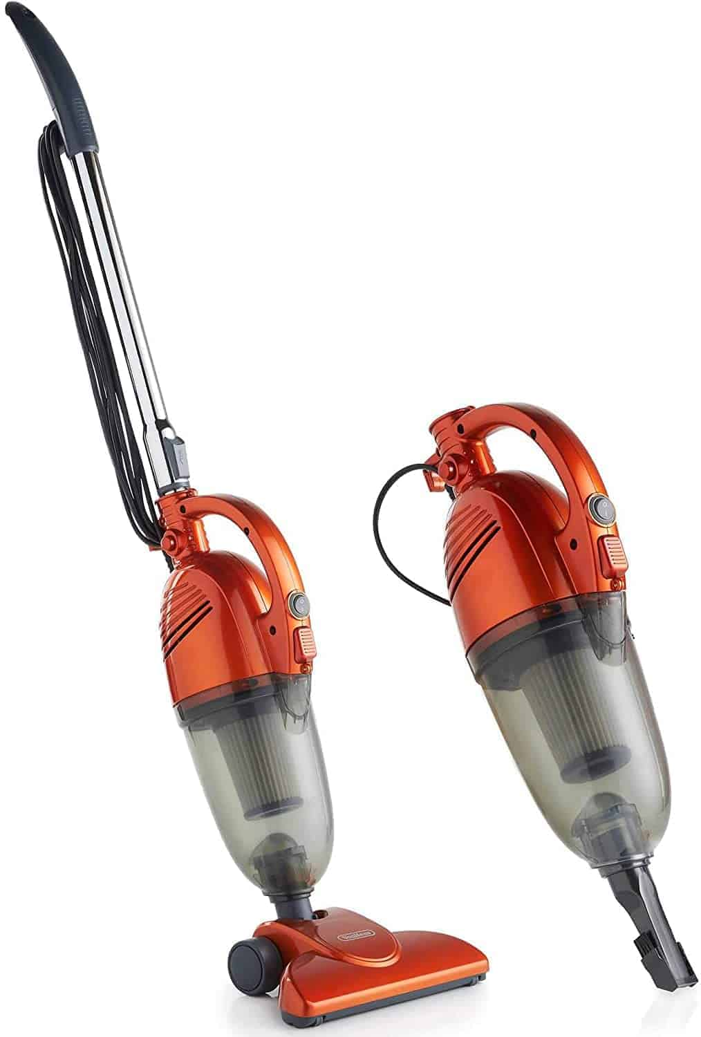 Best 2 in 1 handheld stick vacuum for hardwood floors: VonHaus 600W with HEPA Filtration