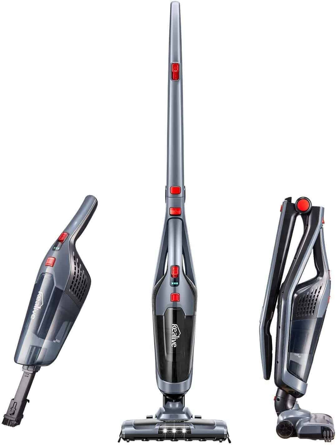 Best 2 in 1 handheld vacuum stick for under $100: Deik for carpet & pet hair