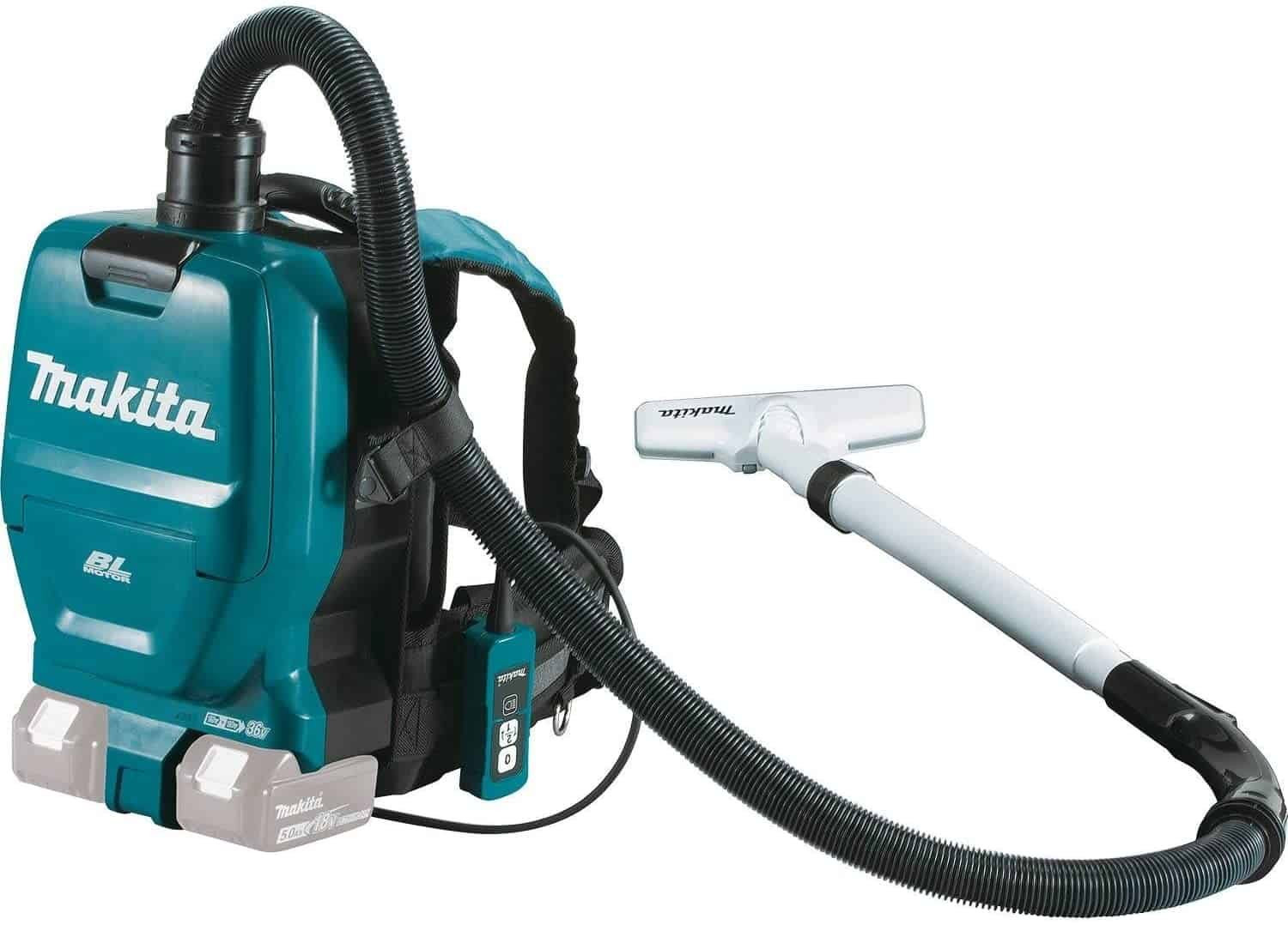 Best Cordless Backpack Vacuum: Makita XCV05Z 18V X2 LXT