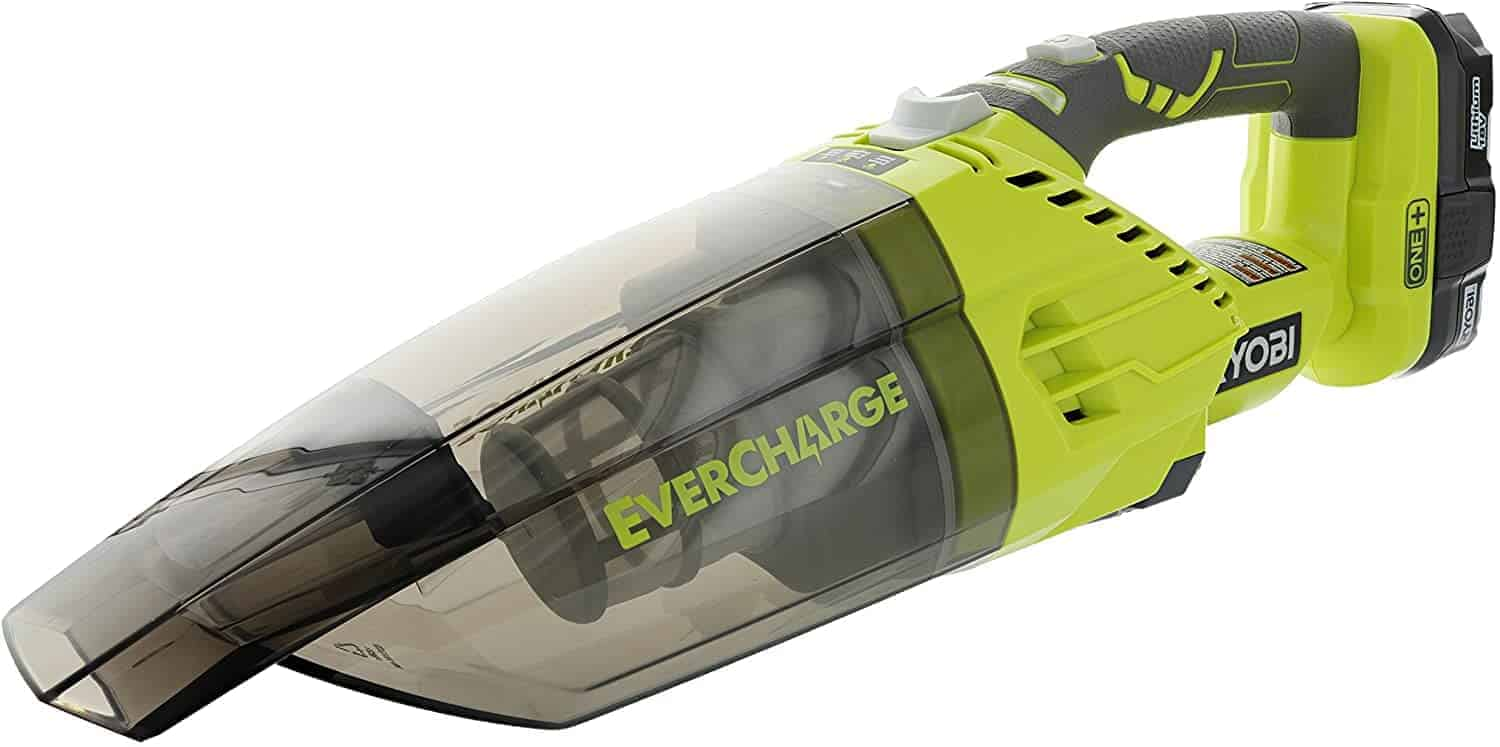 Best Dustbuster with a Wall Mount: Ryobi P714K One plus