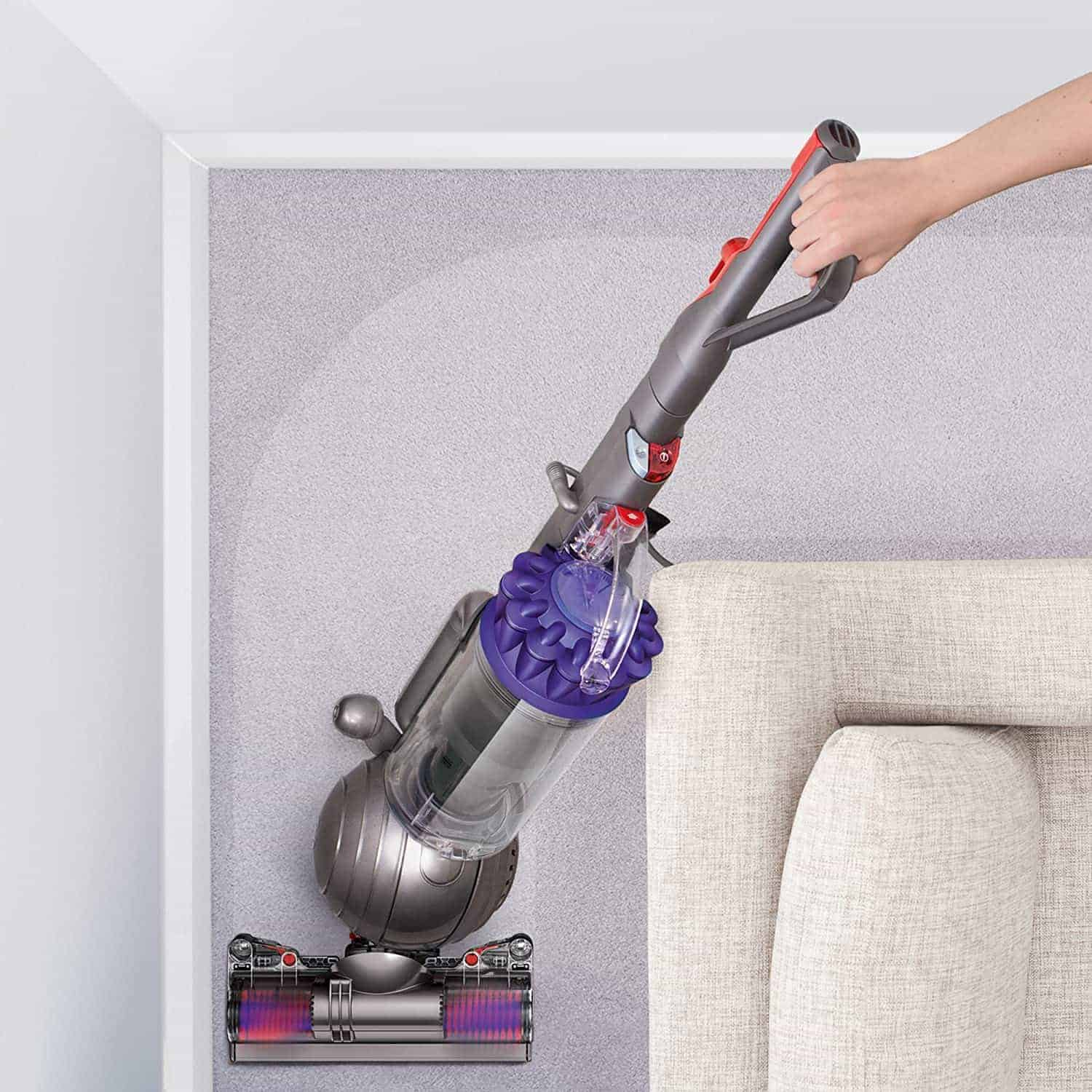 Best Hepa filter: Dyson Ball Animal 2 Upright Vacuum