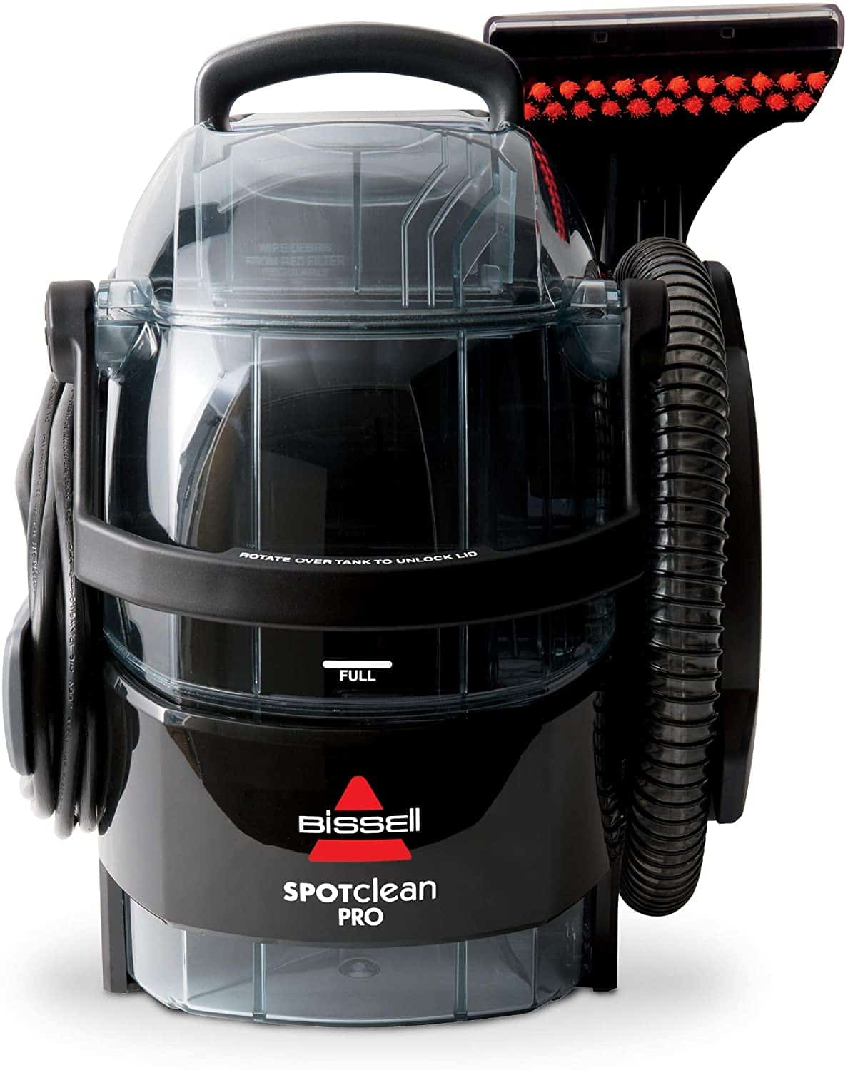 Best carpet vacuum cleaner for pets: Bissell SpotClean Professional 3624