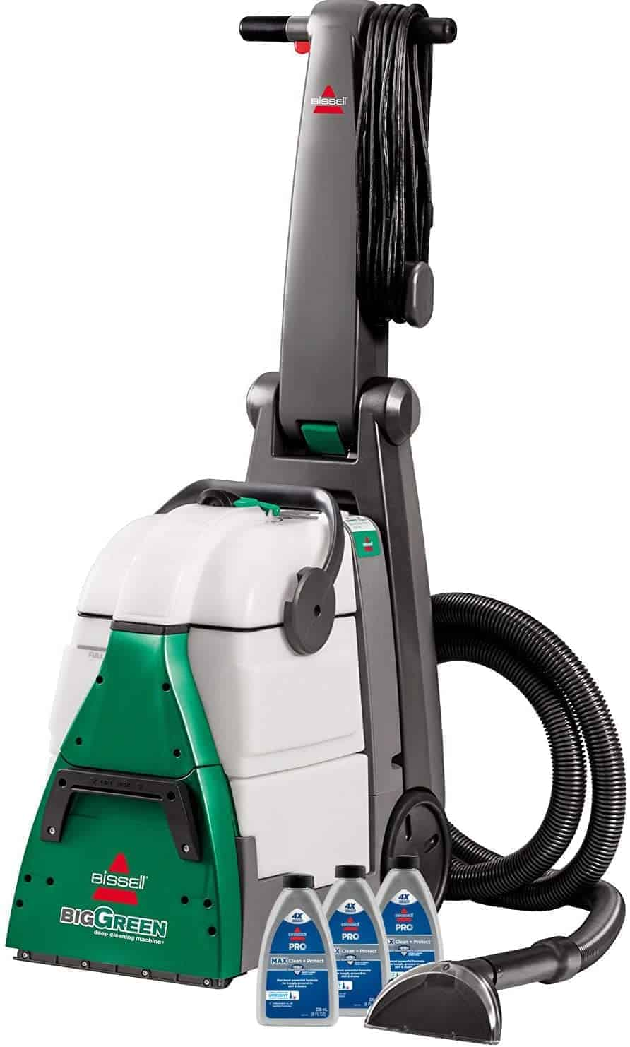 Best carpet vacuum for large surfaces: Bissell Big Green Professional Grade 86T3