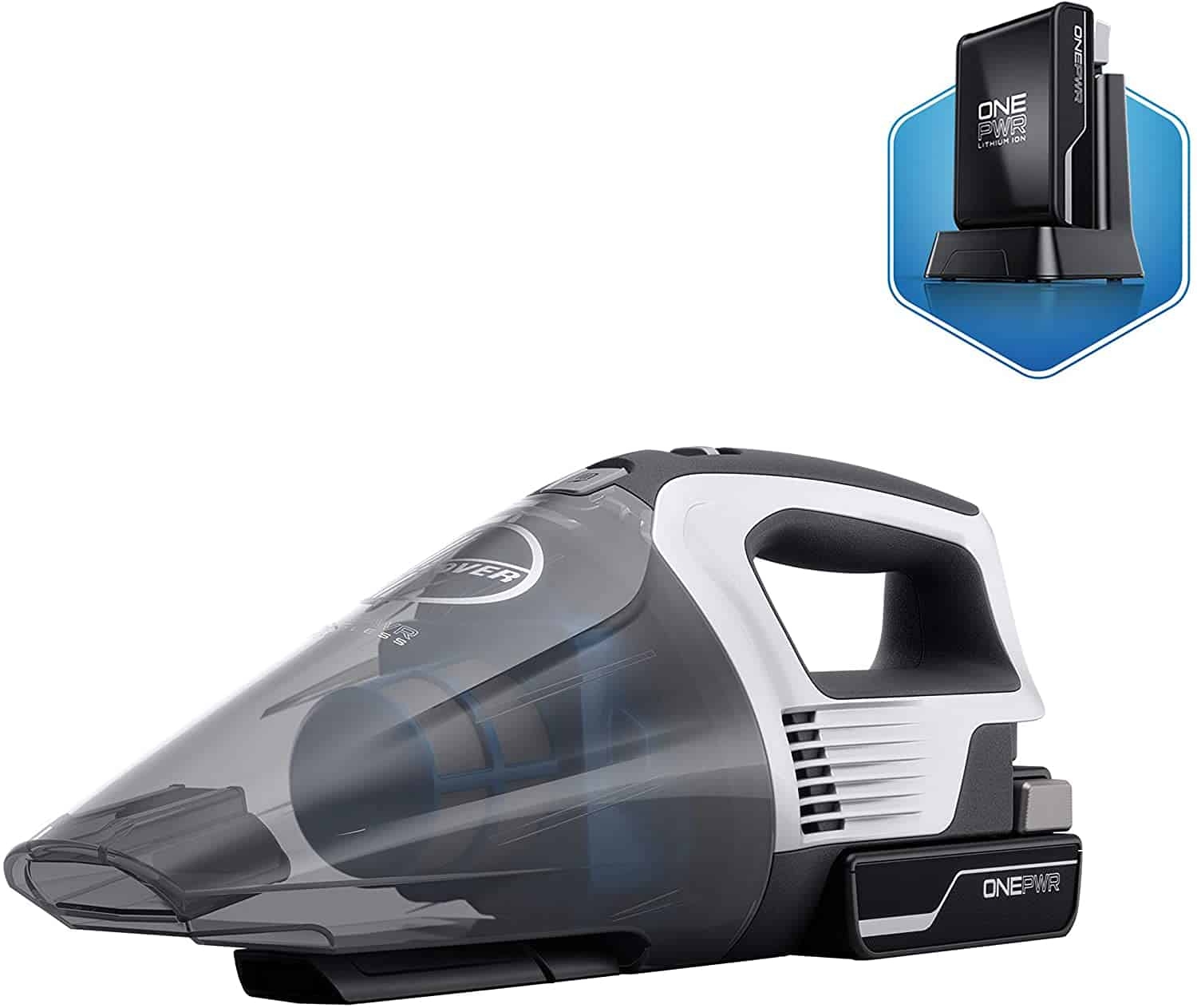 Best handheld vac With Replaceable Battery: Hoover ONEPWR