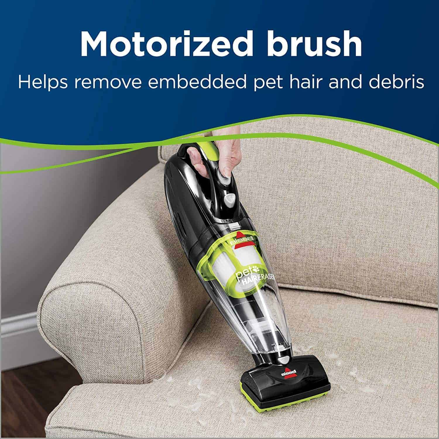 Best handheld vacuum cleaner for pets: Bissell Cordless Pet Hair Eraser