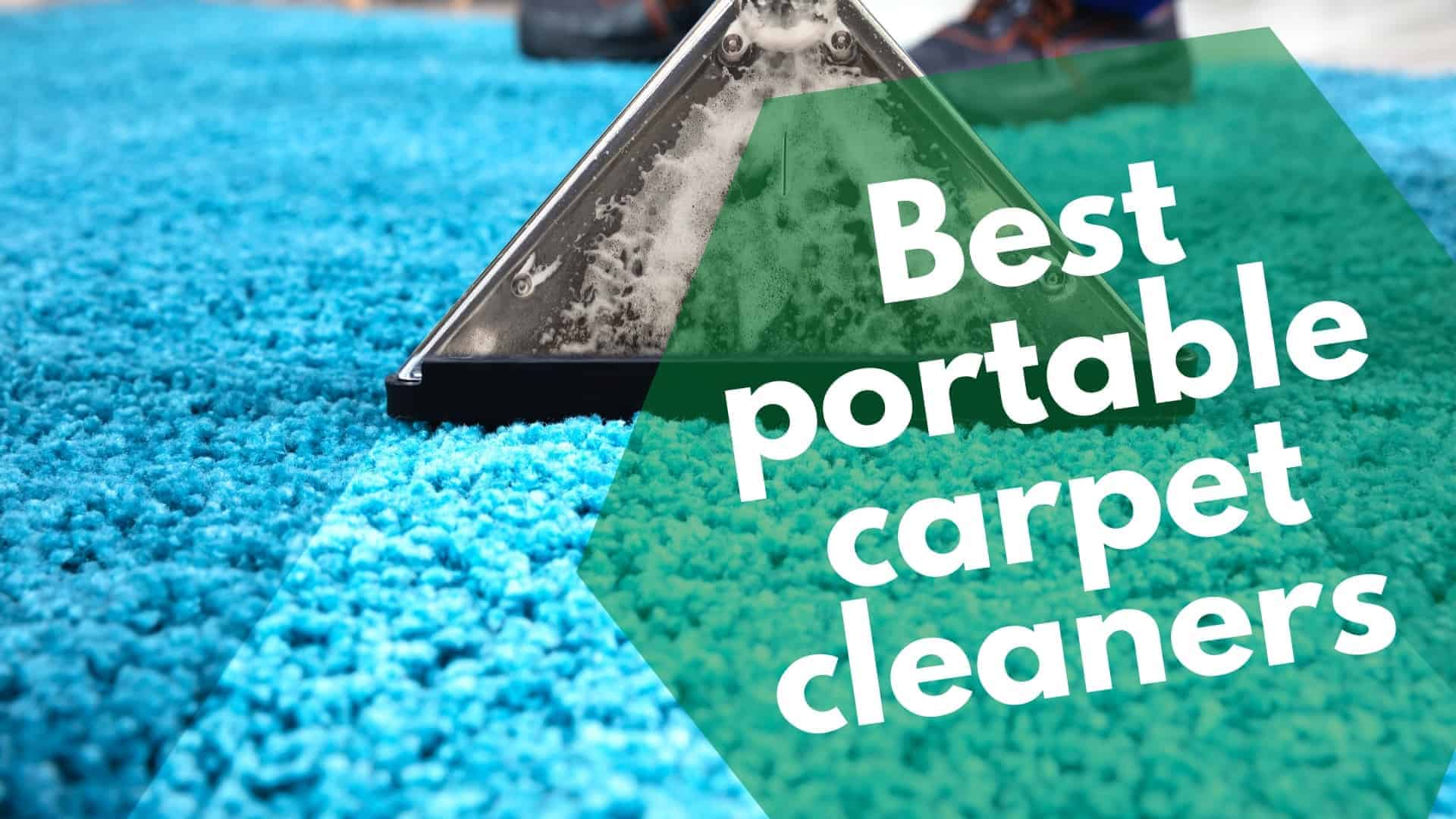 Best-portable-carpet-cleaners