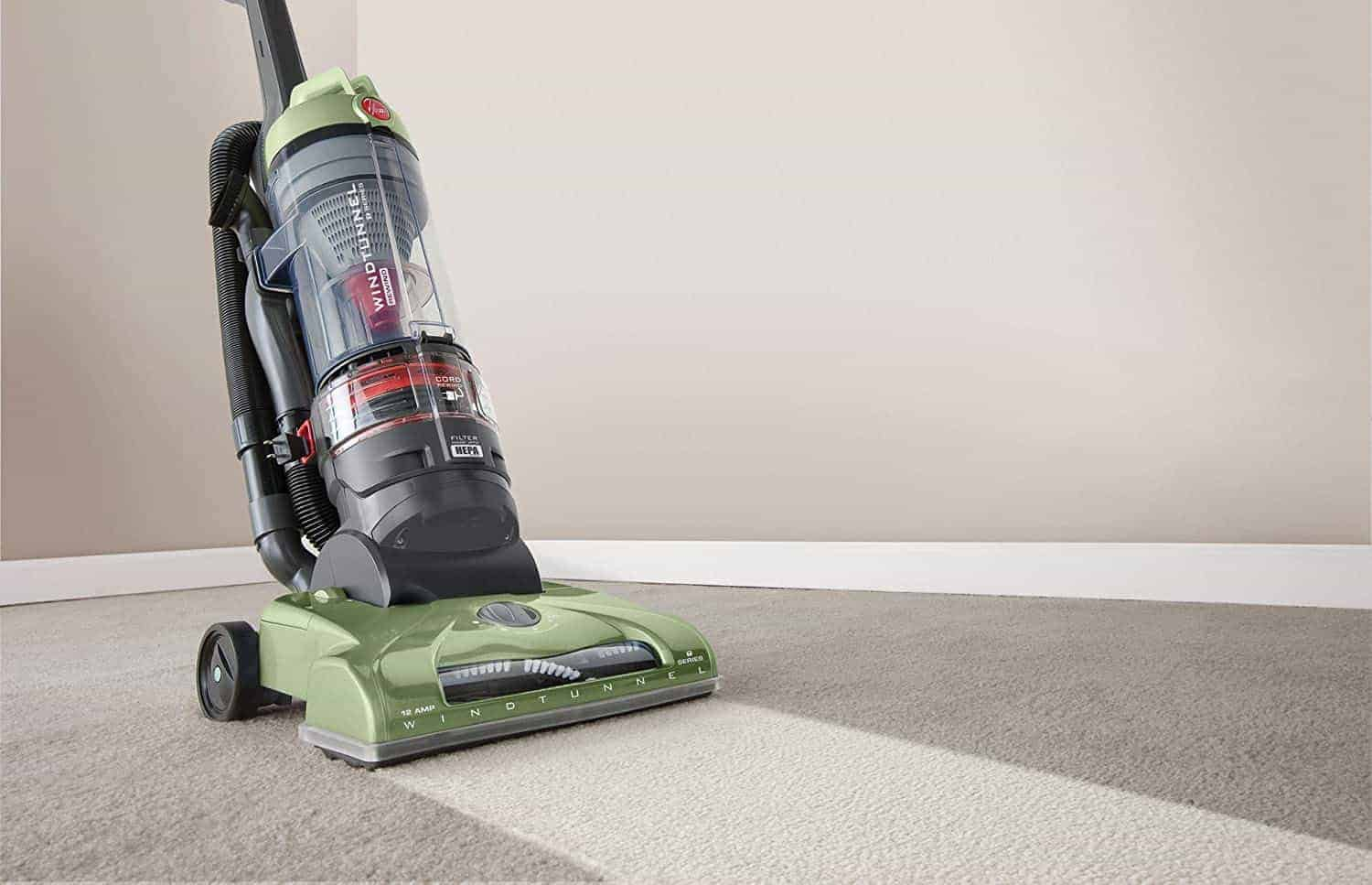 Best upright vacuum for carpets: Hoover UH70120 T-Series WindTunnel Rewind