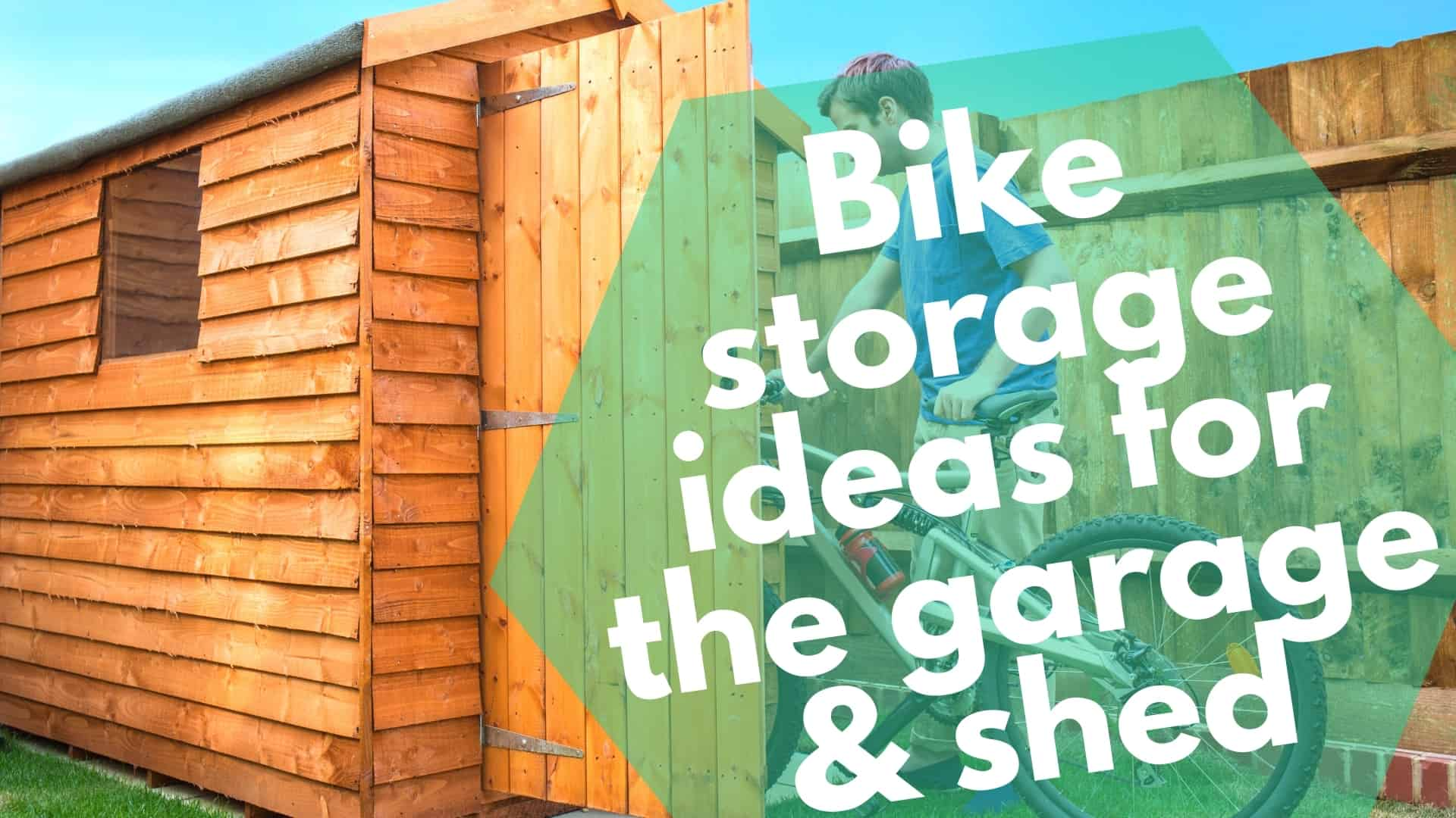 Bike storage ideas for the garage & shed