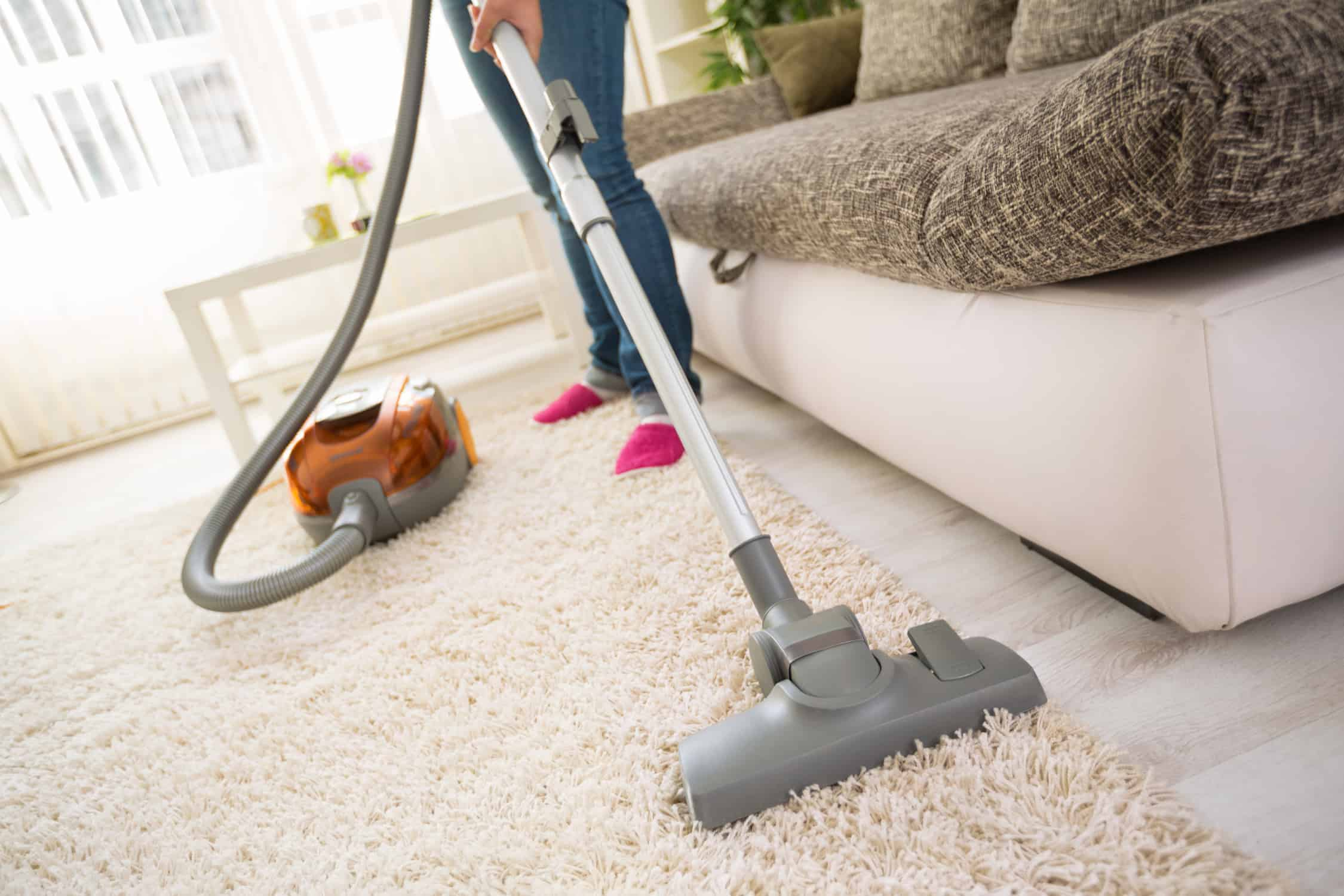 Carpet vacuuming mistakes