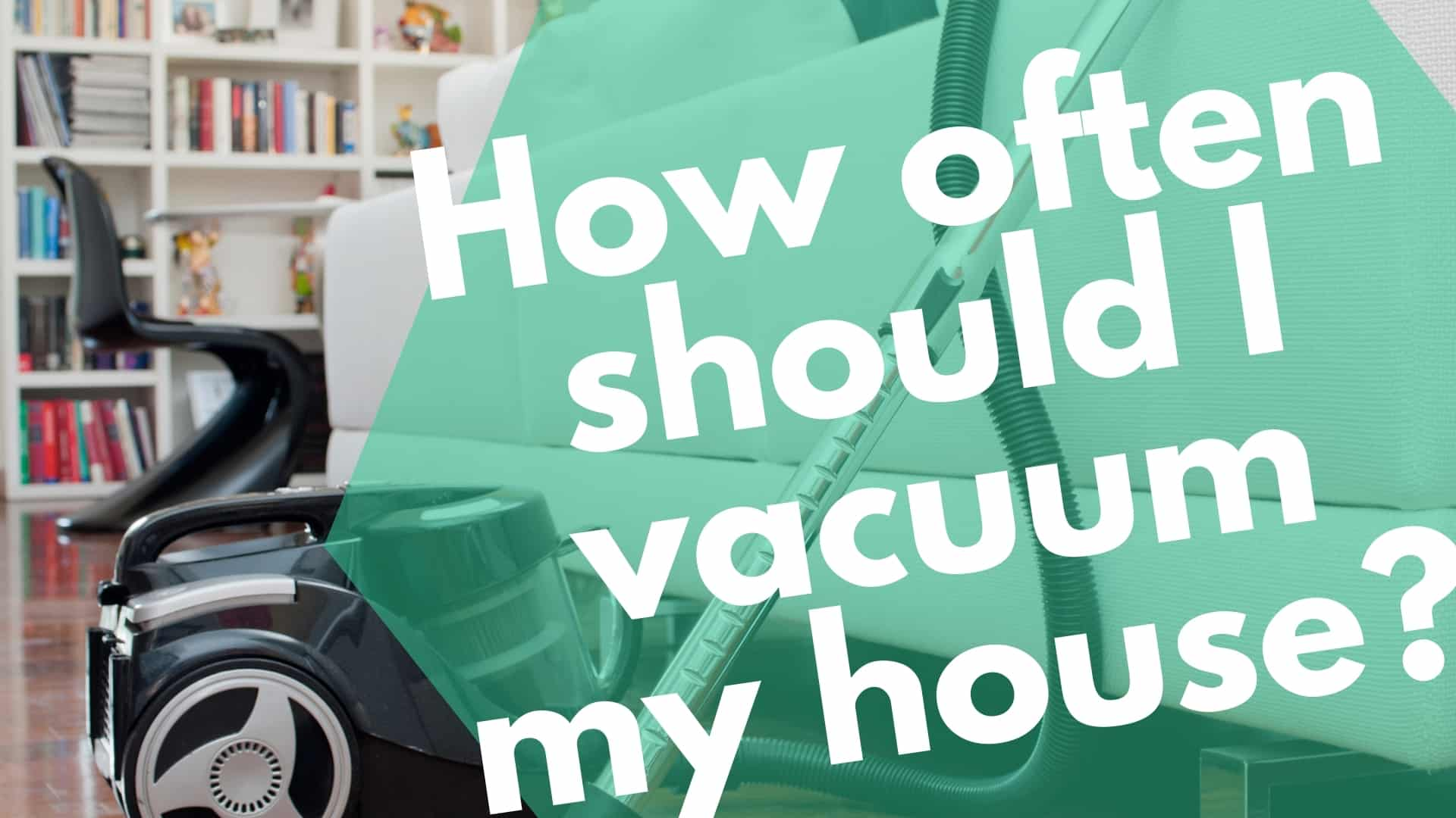 How Often Should I Vacuum My House?