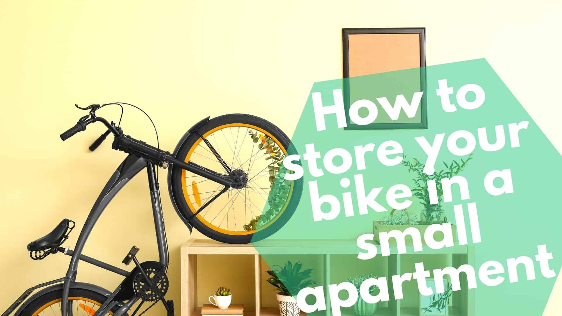 How to store your bike in a small apartment