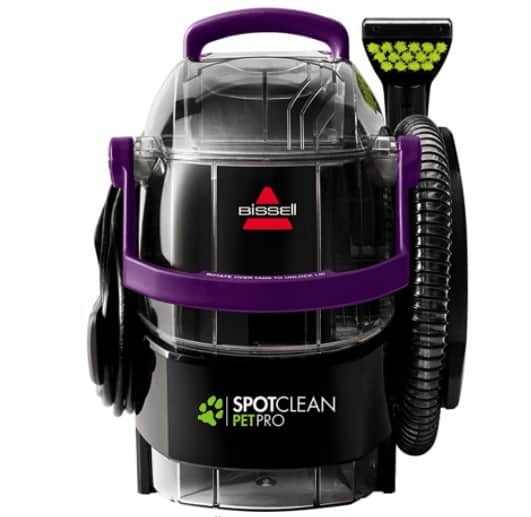 Portable Carpet Cleaner with Best Suction: BISSELL SpotClean Pet Pro 2458