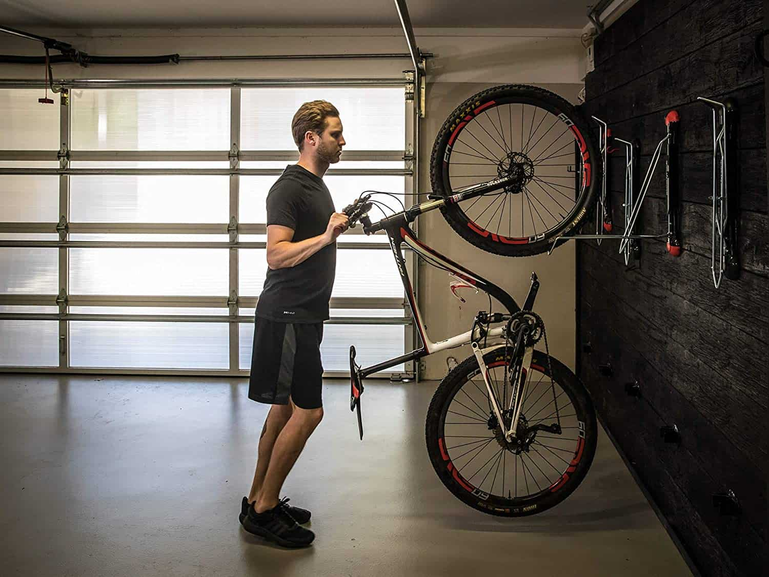 Steadyrack vertical bike storage