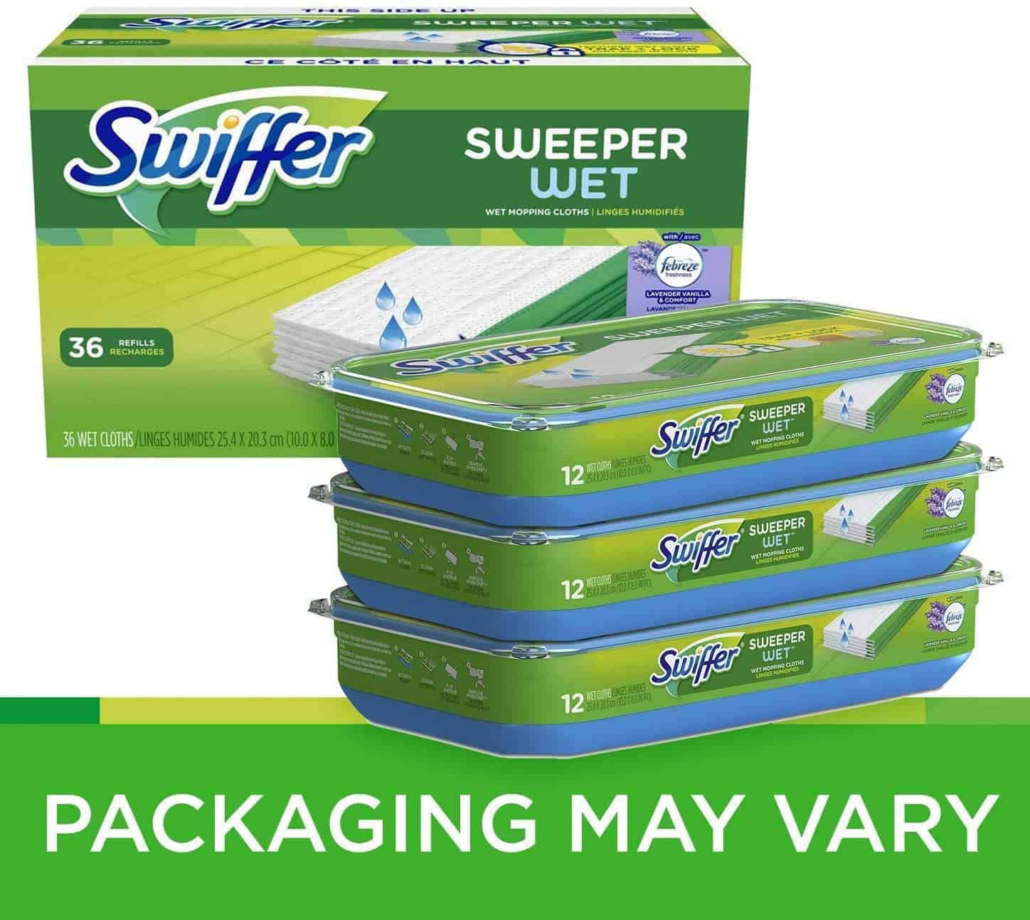 Swiffer Sweeper Wet Mopping Pad Refills for Floor Mop