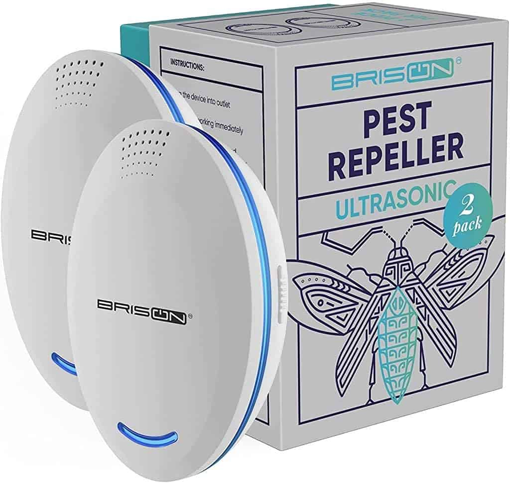 Ultrasonic Bed Bug Repellent: Ultrasonic Pest Repeller Plug-in