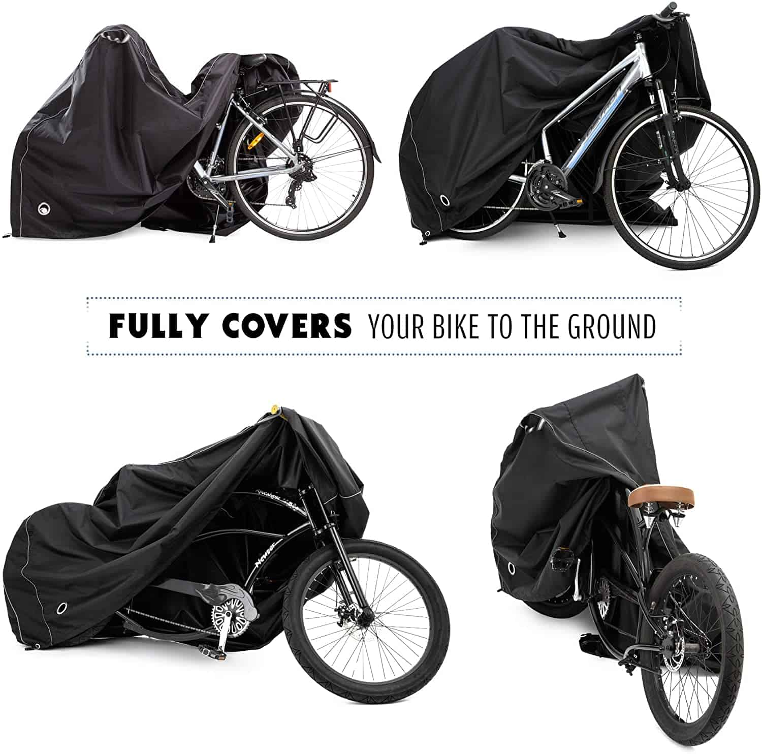 Best Bike Cover: Team Obsidian Bike Heavy Duty Ripstop
