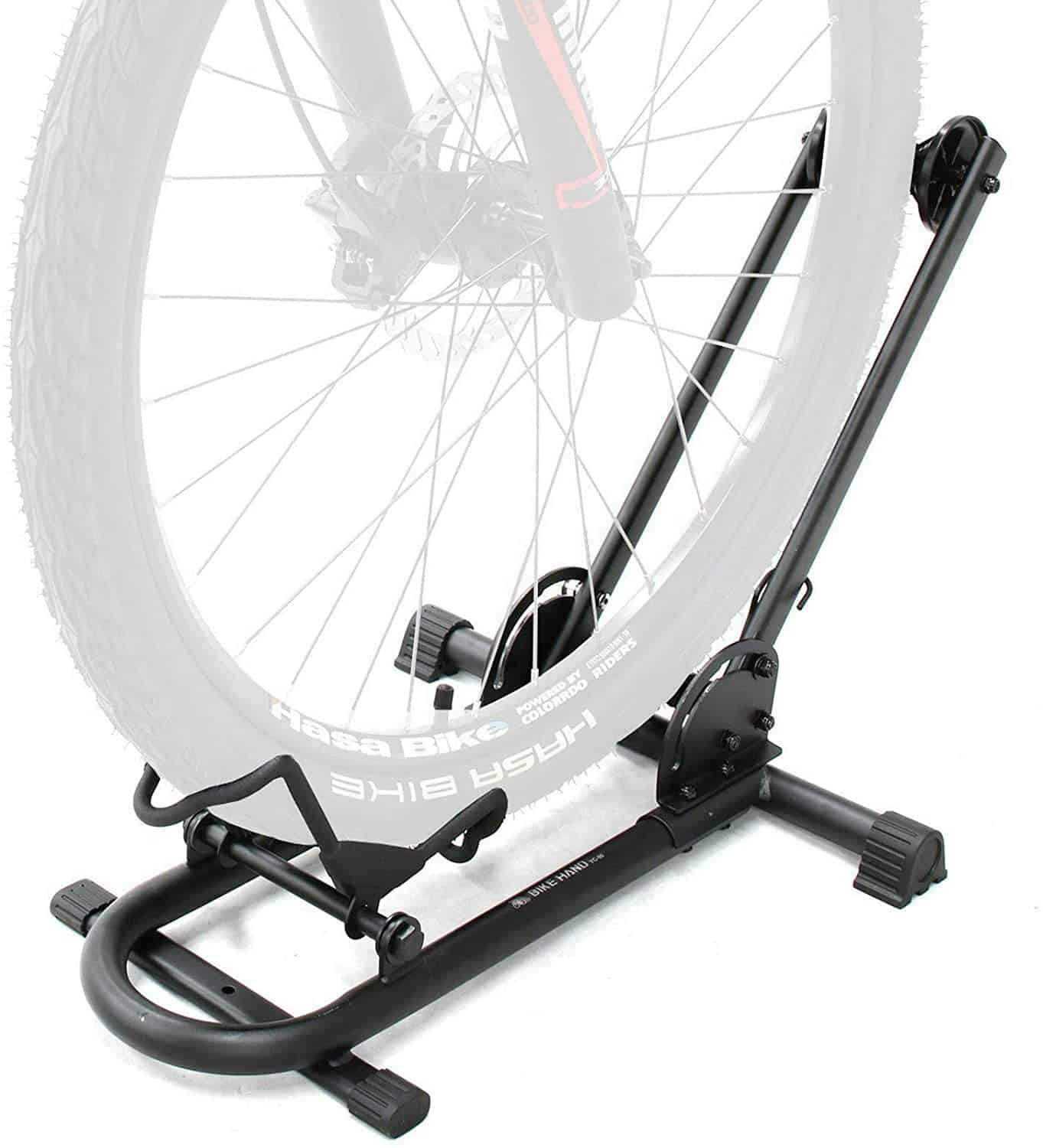 Best Bike Floor Stand for a Single Bike: Bikehand Bicycle Floor Parking Rack