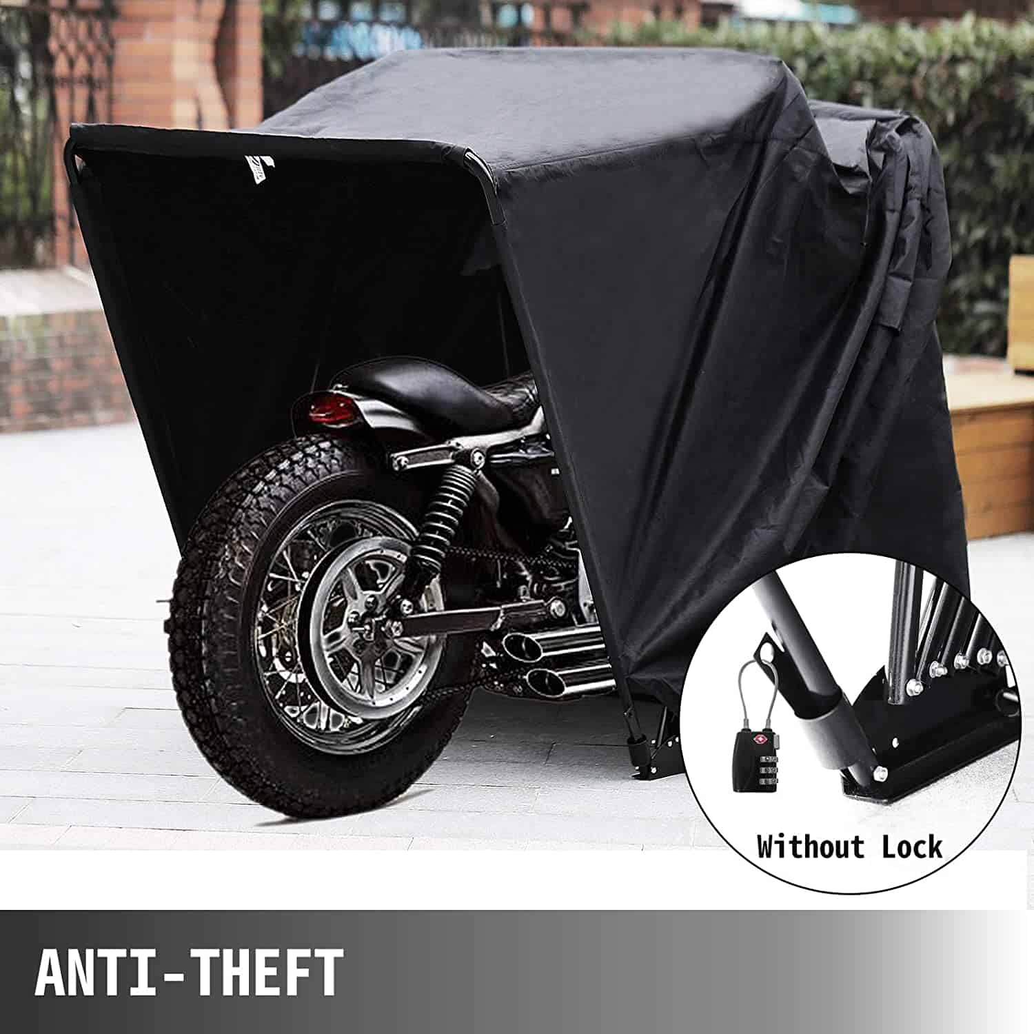 Best Motorcycle Storage Shed: Mophorn Shelter Hood