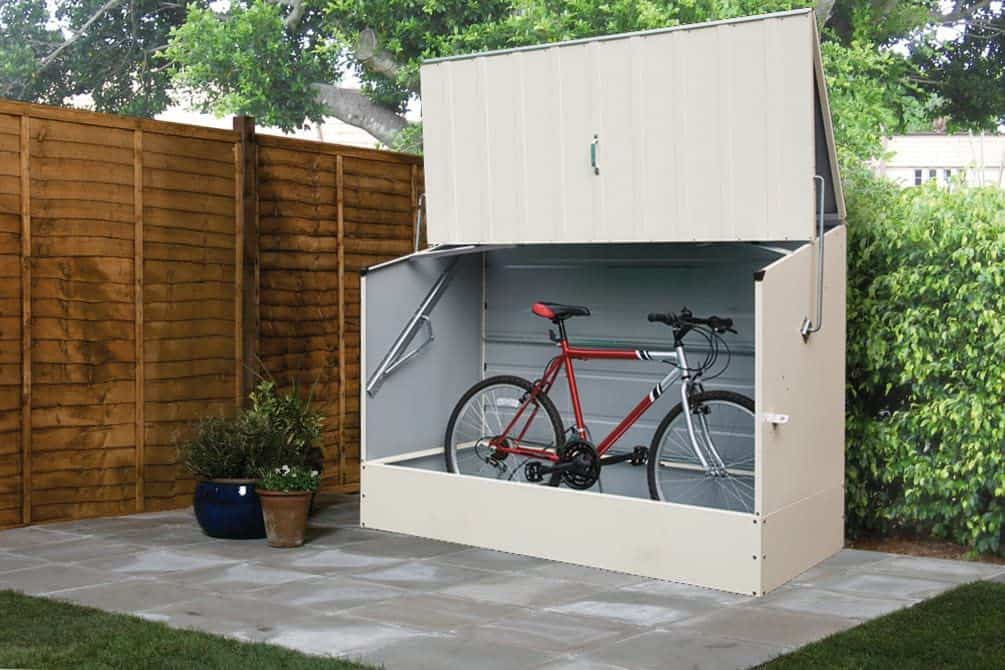 Best Outdoor Storage Shed: Trimetals 6 x 3' Bicycle Storage Unit