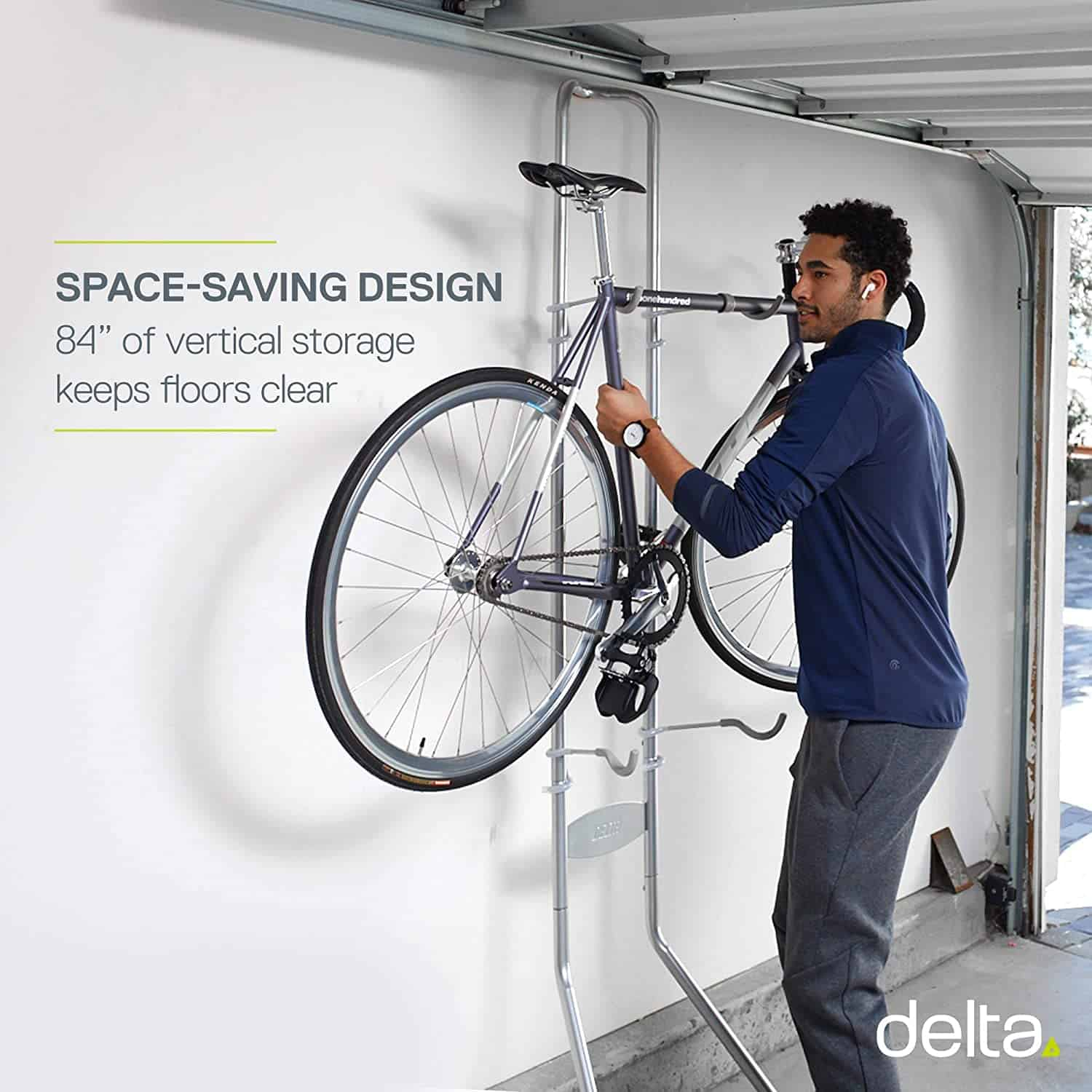 Best Stacked Floor Stand for Multiple Bikes: Delta Cycle Michelangelo