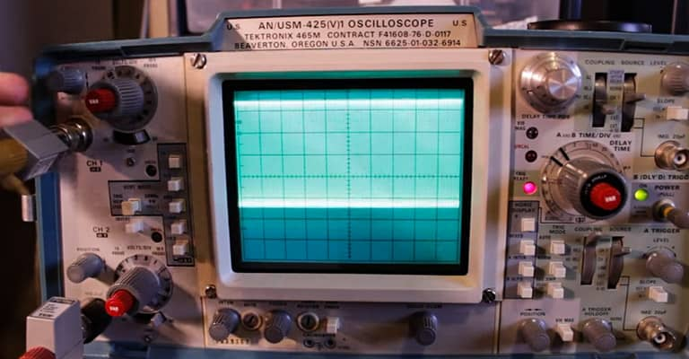 Adjusting-Oscillosocpe-Graph-and-Calculating-Frequency
