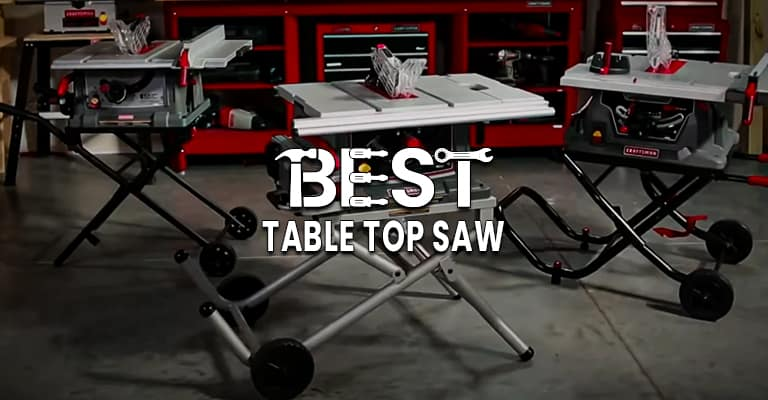 Best 5 table top saws handpicked and reviewed for you [Top picks for 2021]