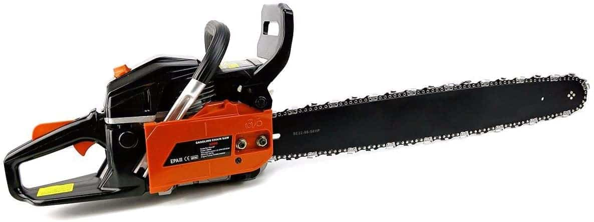 Best budget-friendly professional chainsaw- XtremepowerUS 22″ inch 2.4HP 45cc