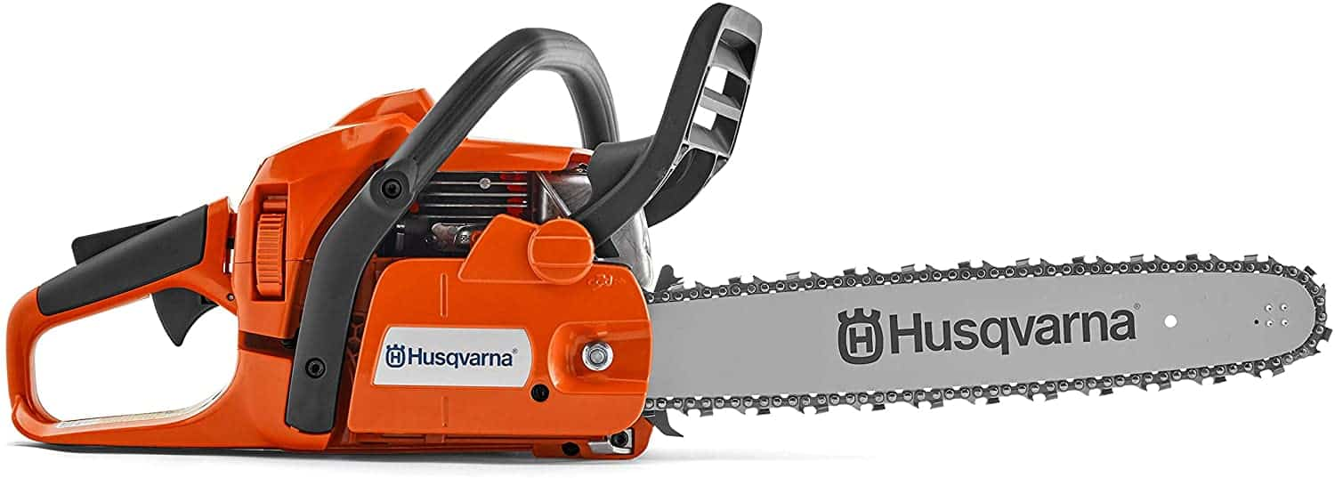 Best for 50cc chainsaw for raw-cutting: Husqvarna 20-inch 450 Rancher II