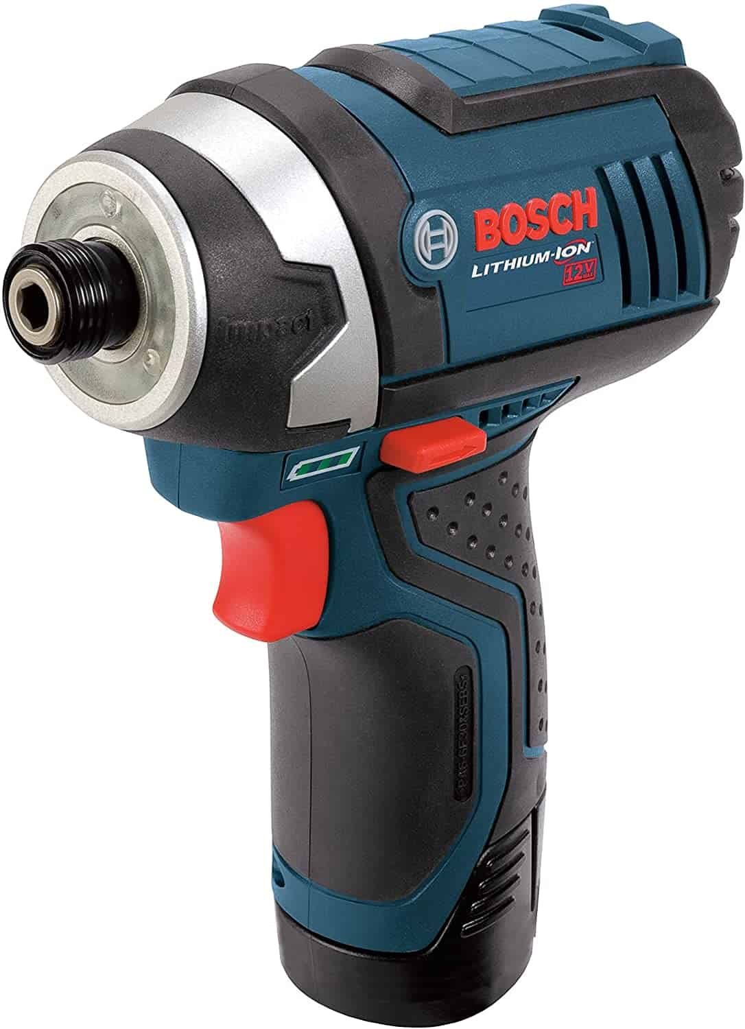 Best for lightweight professional work- BOSCH PS41-2A 12V Hex Impact Driver Kit