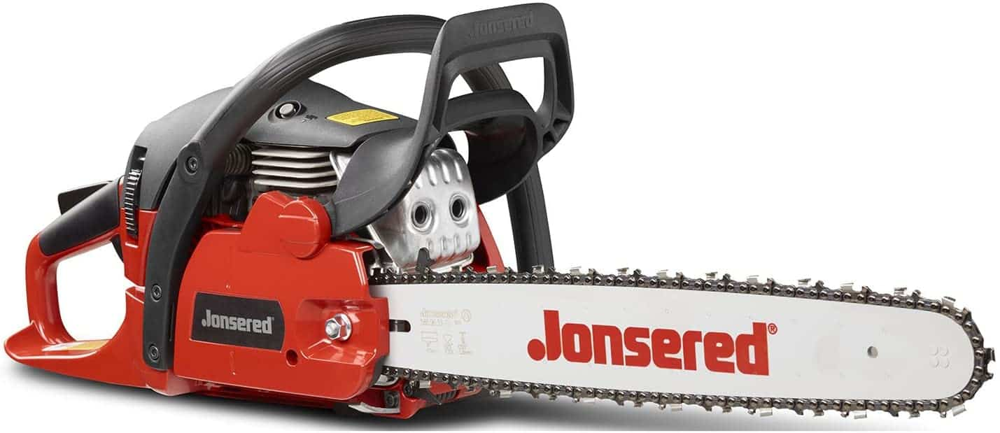 Best fuel efficient professional chainsaw- Jonsered CS2245, 18 in. 45cc