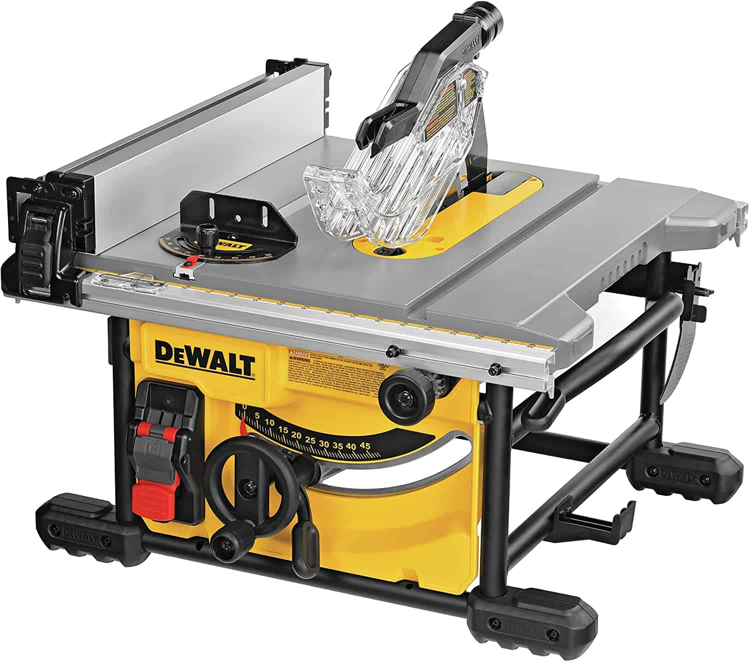 Best table top saw overall- DEWALT Compact 8-1:4-Inch Saw