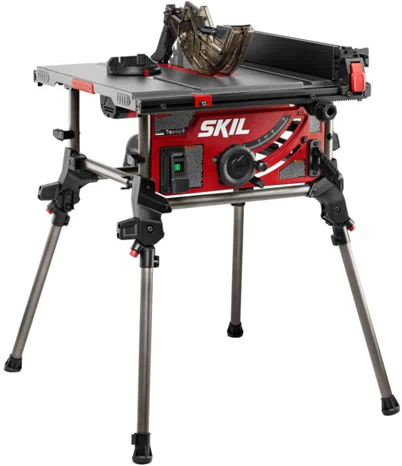 Best table top saw with foldable stand- SKIL 15 Amp 10 Inch TS6307-00