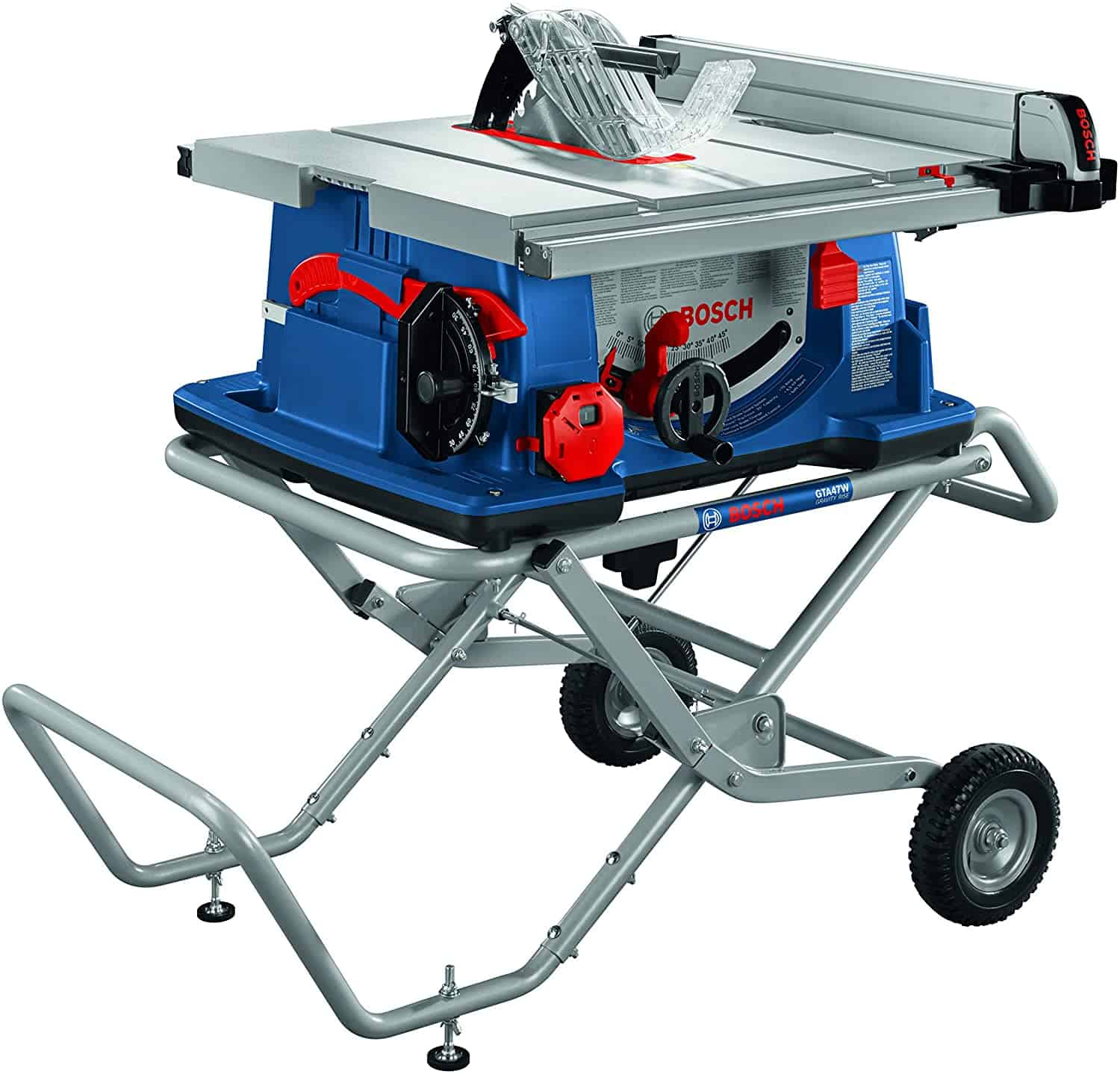 Best table top saw with wheels- BOSCH 10 inch 4100XC-10