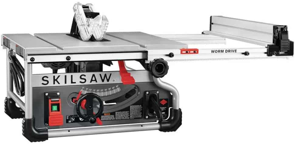 Best table top saw with worm drive power- SKILSAW SPT99T-01 8-1:4 Inch