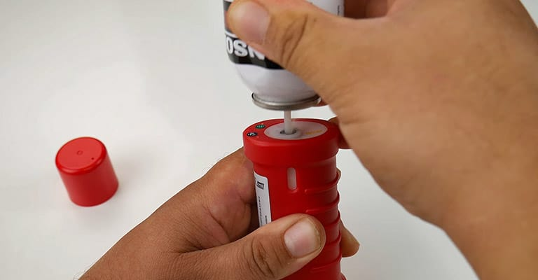 Filling-The-Butane-Torch