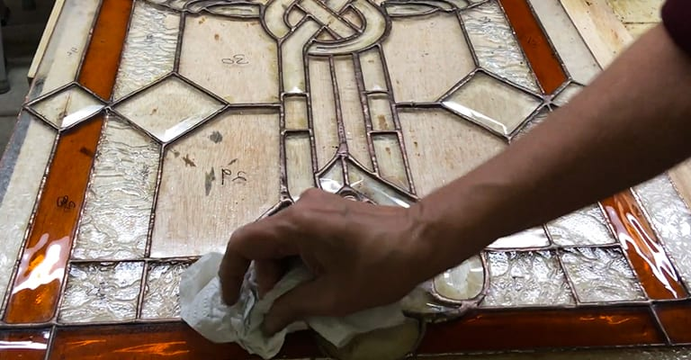 How-Do-You-Keep-Stained-Glass-Solder-Shiny
