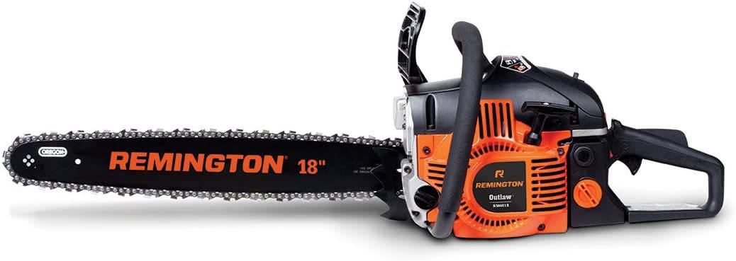 Most comfortable professional chainsaw- Remington RM4618 Outlaw 46cc