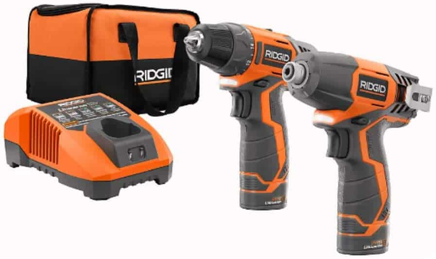 Most convenient and easy to use-RIDGID R9000 12V Drill-Driver and Impact Kit complete