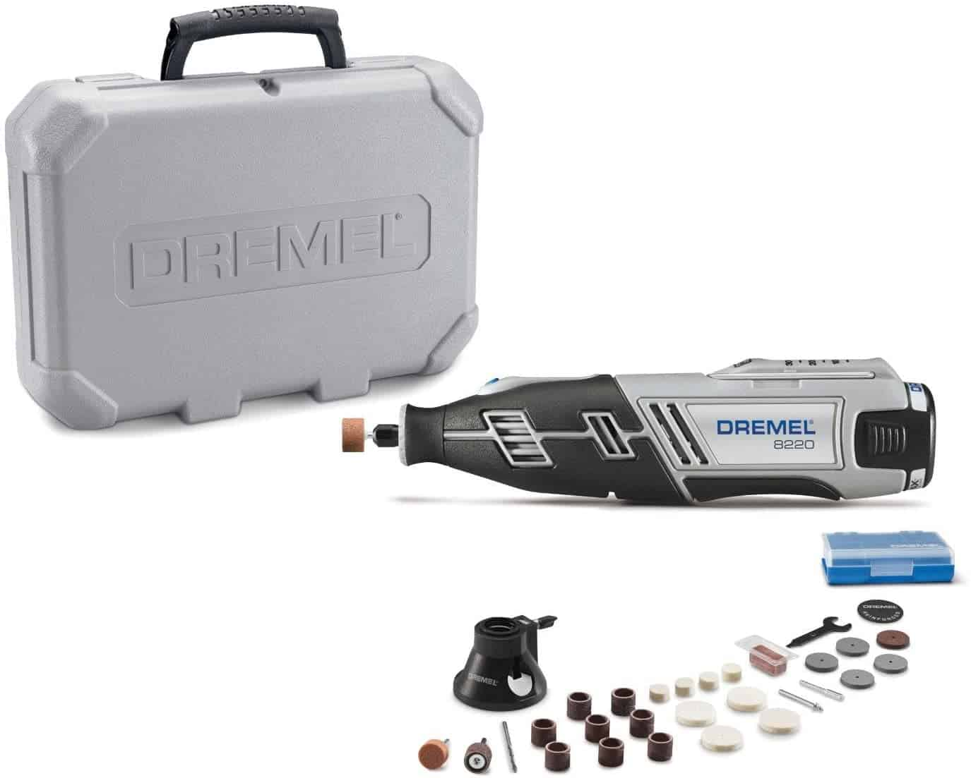 Overall best and complete cordless rotary tool kit- Dremel 8220-1:28 12-Volt Max