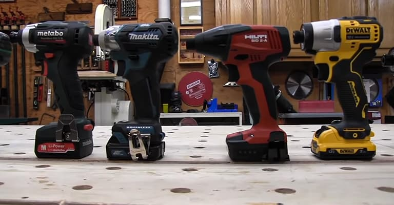 Best 12v impact driver buying guide
