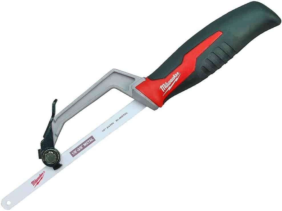 Best compact hacksaw for tight spaces- Milwaukee 48-22-0012