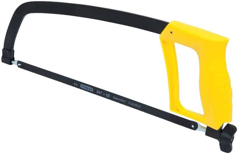 Most cost-effective hacksaw- STANLEY High Tension Hand Saw